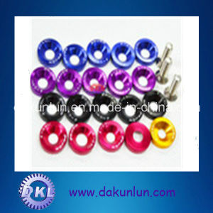 Colored Aluminum Fender Washer Type of Lock Washer pictures & photos