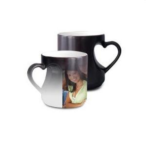 11oz Color Heart Changing Ceramic Mug