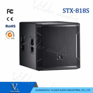 Stx-818s High Quality Single 18′′ Bass Professional Speaker Subwoofer pictures & photos