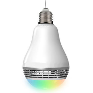 Mini Bulb Speaker Bluetooth 3.0 APP Operation pictures & photos