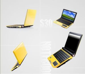 10.2 Inch 1024*600, Built in Microphone, Bluetooth, Build-in Touch Panel, Windows7/XP, Linux Ubuntu Laptop