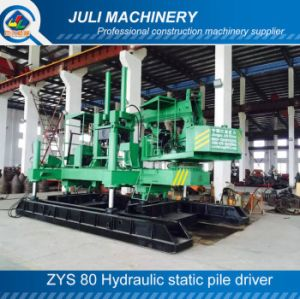 Small Size Pile Driver, Zys 80 Hydraulic Static Pile Driver, 80ton Hydraulic Pile Driver