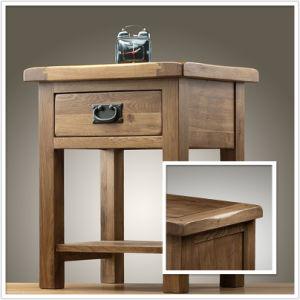 Bedroom Furniture/Solid Oak Lamp Table for Bedroom (HSRU-001)