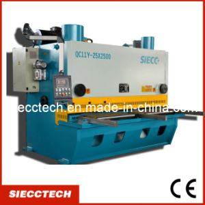 CNC Hydraulic Metal Shearing Machine (QC11K) pictures & photos