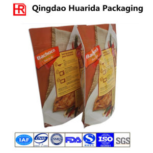Golden Color Ziplock Bag Made From 100% Food Grade Material pictures & photos