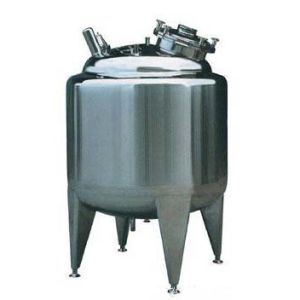Stainless Steel Thermal Storage Tank with Heating or Cooling Jacket pictures & photos