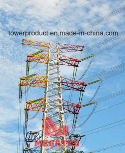 500kv Double Circuit Heavy Angle Tension Transmission Line Tower pictures & photos