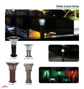 Hot Sale LED Solar Grass Lamp/Landscape Lamp pictures & photos