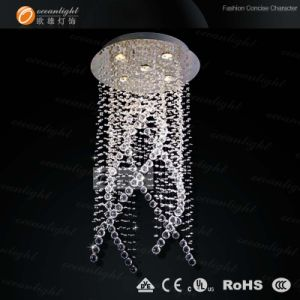 New Design Modern Crystal Chandelier Lamp (OM9109) pictures & photos