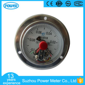 100mm Stainless Steel Anti-Explosion Electric Contact Manometer with Flange pictures & photos