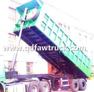 3 axle dump trailer/ Tipping trailer/ dump tipper trailer/ dumper tipper trailer pictures & photos