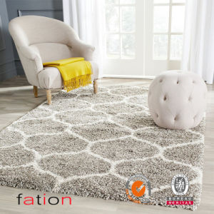 100% Polyester Navy and Ivory Area Rug pictures & photos