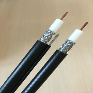 75 Ohm Braiding CATV Rg11 Coaxial Cable with PVC Jacket pictures & photos