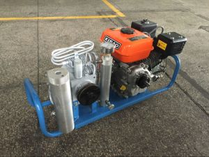 High Presssure Air Compressor Diesel Driven for 300bar 4500psi pictures & photos