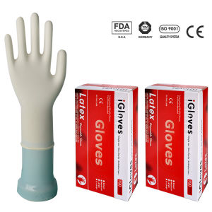 High Quality Disposable Latex Examination Gloves pictures & photos