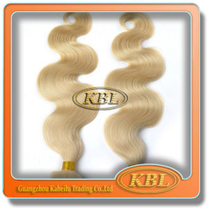 Natural Brazilian Blonde Kinky Curly Hair Weave pictures & photos