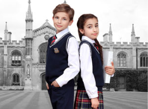 Factory Western Middle School School Uniform with School Logo pictures & photos