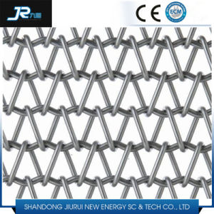 Spiral Grid Wire Mesh Belt for Food pictures & photos