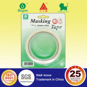 High Adhesion Double Sided Tape with Blister Card pictures & photos