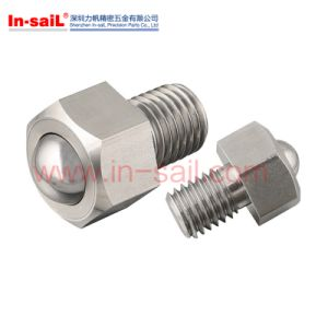 Hex Flange Drive Steel Ball Plungers with Bolt pictures & photos