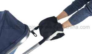 OEM Winter Waterproof Oxford Baby Stroller Warm Gloves pictures & photos