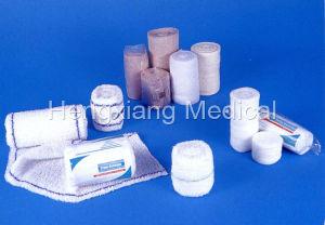 Elastic Crepe Pop H-Quality Medical Bandage (D014) pictures & photos