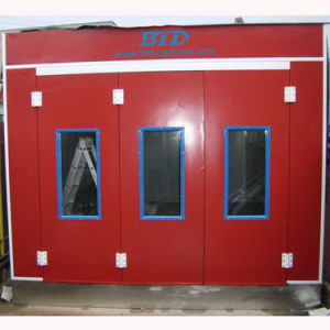 Cheap Spray Paint Cabin Price Car Paint Booth pictures & photos