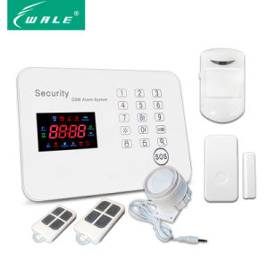 120-Zones OEM/ODM Security Wireless GSM Alarm System with Touch Panel pictures & photos