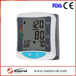 Wrist-Type Digital Sphygmomanometer with FDA Approved pictures & photos
