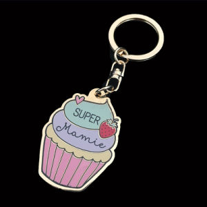 2018 Newest Custom Logo Hard Enamel Keychain for Promotion Gift pictures & photos