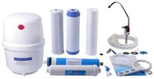 Luxury Cabinet R. O. System Water Filter with Inline Filter Cartridge pictures & photos