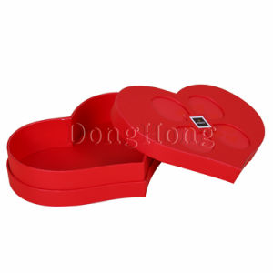 Customized Design Luxury Heart Shape Chocolate Box Packaging pictures & photos