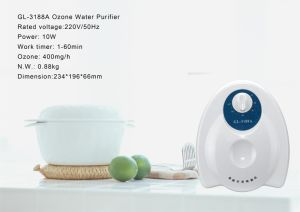 Home Ozone Purifier Gl-3188 Ozone Boy 400mg pictures & photos