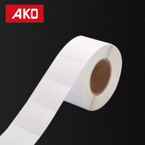 Custom Size Water-Proofing Glassine Liner Hot Melt Self Adhesive Sticker pictures & photos