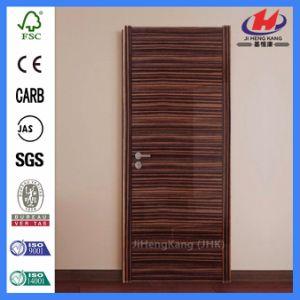 HDF/MDF Veneer Moulded Wooden Plywood Flush Door (JHK-F01) pictures & photos