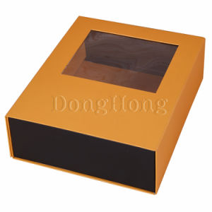 Hot Selling Custom Wine Folding Wine Gift Boxes with Window pictures & photos