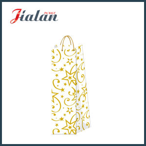 Christmas Wine Bottle with Hot Stamping Shopping Gift Paper Bags pictures & photos