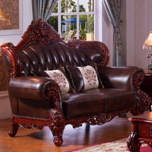 Living Room Sofa with Side Table for Home Furniture (505) pictures & photos