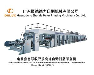High Speed Automatic Rotogravure Printing Machine (DLYJ-13850C/S) pictures & photos