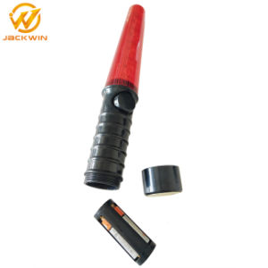 High Bright Flashing Plastic LED Traffic Baton Light with Whistle pictures & photos