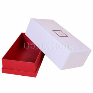 Elegant Simple Design Gift Packaging Paper Box with Lid pictures & photos
