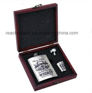 Stainless Steel Hip Flask Set (R-HF056) pictures & photos