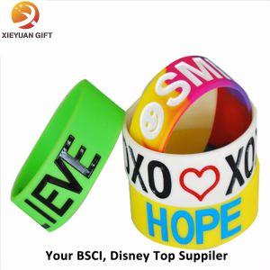 Cheap Custom Silicone Wristband Bracelet Fashion Wristbands (XY-MXL72905) pictures & photos