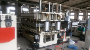 PC PP PE Polycarbonate Plate Extrusion Line 100% Virgin Ten Years Guarteen pictures & photos