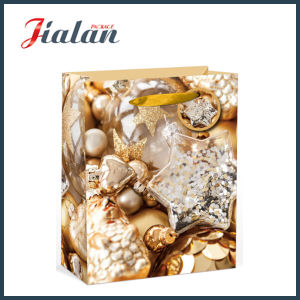 Promotion Fashion Printed Christmas Gift Packing Shopping Carrier Paper Bag pictures & photos