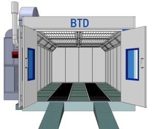 Btd Spray Cabin Chamber Painting Room Booth Fast Heating pictures & photos