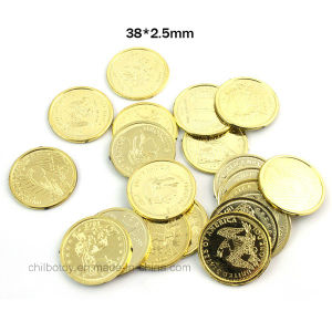 Plastic Toy Coins as Educational Toy pictures & photos