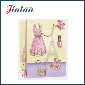 Custom 4c Printed Lady Dress Packing Shopping Paper Gift Bag pictures & photos
