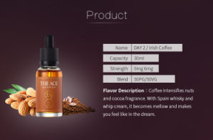 China Supplier Day 2 Irish Coffee Flavor 10ml E Liquid DIY E Liquid British Style E Juice pictures & photos