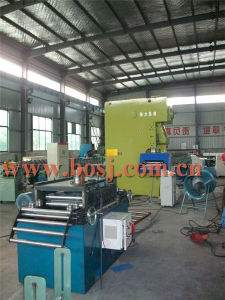 Galvanized Construction Scaffold Floor Panel Roll Forming Machine Factory pictures & photos